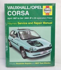 Paper Corsa Haynes Car Manuals and Literature