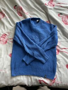 Finisterre men's blue jumper
