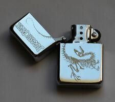 JURASSIC PARK -  chrome petrol lighter - dinosaur [Cd:252.mc-41-lP.] mini poster