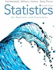 Statistics for Business and Economics by Newbold, 7th Edition