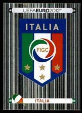 Panini Euro 2012 (Swiss Platinum Edition) Badge (Italy) No. 311