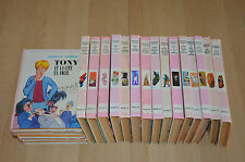 LOT 16 livres série TONY - Collection la BIBLIOTHEQUE ROSE