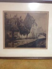Dietrich Cie Editeurs Bruxelles print Hand Signed Numbered 43/100