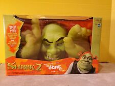 "Shrek 2 ""Be An Ogre"" Mask & Hands Talking Sounds Hasbro 2004 New In Box 💥💥💥💥"