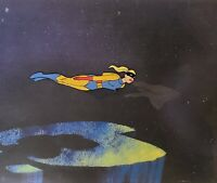 Space Ghost: Jan: Original Production Cel w/Matching Drawing