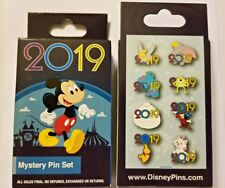 Disney Collectible Pin Pack 2019 Mystery Box of 2 Pins Sealed NEW