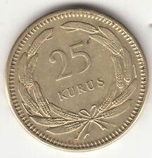 Turkey 1956 25 Kurus Coin