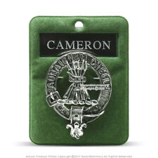Clan Cameron Scottish Crest Badge Brooch Pin for Clothes Costume Gift Souvenir