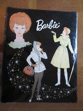 Vintage 1963 Barbie Doll Fashion Black Wardrobe Case Stormy Weather