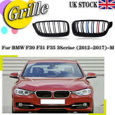 G30 G38 Double Bridge Front Kidney Sport Grill Grilles 17-19 5 Serie Glossy Black