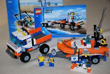 Lego® 7726 City Küstenwache-Strandtruck mit Figur + Anleitung in gutem Zustand