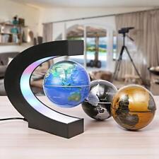 Magnetic Levitation Floating Globe 3 in 1 C Shape LED  Electronic World Map