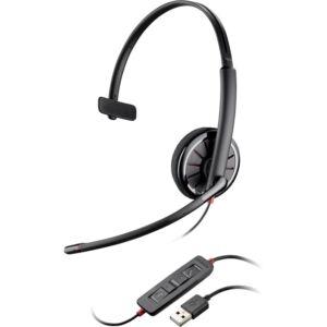 New Plantronics Blackwire C310-M Black Headset - P/N 85618-101