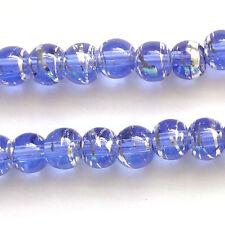 400 Sapphire Drawbench Translucent 4mm Beads Jewellery Making