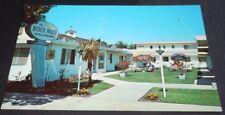Vintage Postcard Beach House Santa Barbara Motel Apts