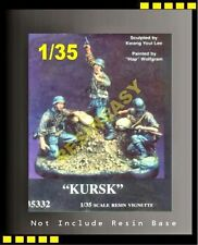"""warriors1/35 WWII German """"Kursk"""" without Base, 3 figures only! - WA35332"""