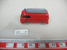 AO913-0,5# Wiking H0 Modelo Fuego pequeño/Furgoneta VW Bus T1,60 k, GK 603/3