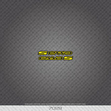 07029 Cannondale CAAD 5 Bicycle Sticker - Decal - Transfer - Yellow