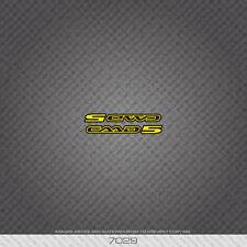 07029 Cannondale CAAD 5 Fahrrad Aufkleber - Aufkleber - Transfer - gelb