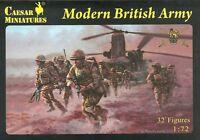Caesar Miniatures 060 - Modern British Army - britische Soldaten - 1:72
