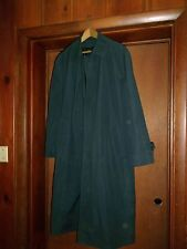 LONDON FOG RAINCOAT- WORN ONCE- NAVY BLUE