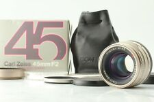 [TOP MINT in BOX] Contax Carl Zeiss Planar T* 45mm f/2 Lens G1 G2 From JAPAN