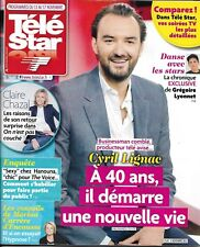 TELE STAR n°2145 11/11/2017  Cyril Lignac/ Chazal/ Un village français/ Ournac