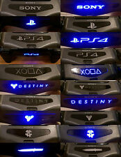 2x PS4 PlayStation Controller LED Light Bar Decal Sticker 80+DESIGNS YOUR CHOICE