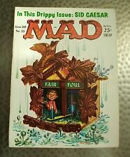 Vintage Mad Magazine #55, June 1960, Kelly Freas Cuckoo Clock Cover, Fine/Fine+
