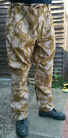 "NEW BRITISH DESERT GORETEX TROUSERS LARGE/REG 38"" W 33"" L 85/96/112 L/R MVP DPM"