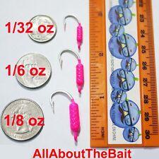 50 pack - MIXED - PINK - Yellowtail Snapper Jigs - Mustad Saltwater Hook