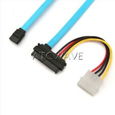 70cm 7 Pin SATA Serial to SAS 29 Pin & 4 Pin Connector Power Cable Lead Adapter