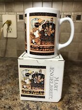 Mary Engelbreit Coffee Mug Cup Life is Just a Chair of Bowlies In Box