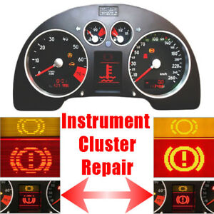 AUDI TT Speedometer Instrument Cluster LCD Display Screen Pixel Repair