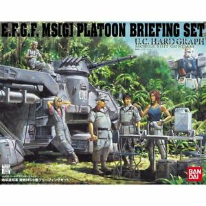 U.C.HARD GRAPH 1/35 Earth Federal Army Land Battle MS platoon briefing set
