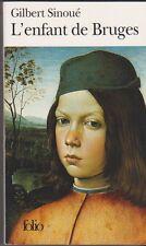 L'enfant De Bruges - Gilbert Sinoué - Pinturicchio en couverture .