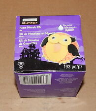 Halloween Owl Foam Mosaic Kit 193pc By Creatology 6+ 43R