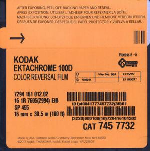 Kodak Ektachrome 100D 16mm 30,5m