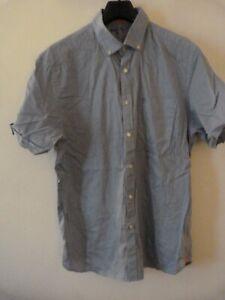 Austin Reed Men's Short Sleeve Shirt Size XL Light Blue
