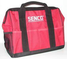 "Senco 17"" Heavy Duty Nylon Tool Bag with Outside Pockets Tool Separators Inside."