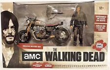 Daryl Dixon w/ New Custom Bike AMC The Walking Dead McFarlane Box Figure Set