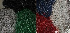 SUPER BOWL LII PARTY MARDI GRAS BEADS - PATRIOTS / EAGLES - FREE SHIPPING