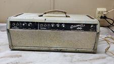 Vintage Fender Bassman Model AB165 tube guitar amp head amplifier
