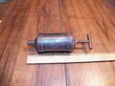 Vintage Small Steel Grease Gun