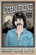 John Prine 1978 Tour Poster