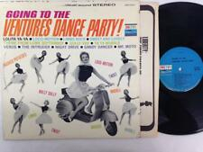 VENTURES LP: Going To The Ventures Dance Party, Stereo, 1962 Vespa Scooter Cover