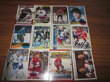 LOT  OF 75 AUTOGRAPHED DIFFERENT ROOKIE RC HOCKEY CARDS-NO DOUBLES-STARS
