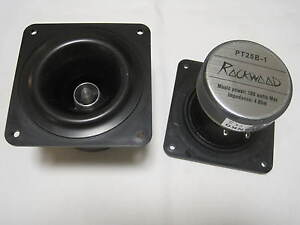 Exponentialhorn PT25B-1 PA-Hochtöner Horn  Ringradiator Horn-Hochtöner Rockwood