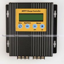 20A 12V/24V MPPT LCD Solar Energy Charge Controller Regulator 15%-30% More Power