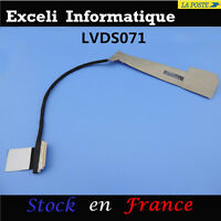 LCD LED ECRAN VIDEO SCREEN CABLE NAPPE DISPLAY HP P/N: 6017B0343701 686047-001
